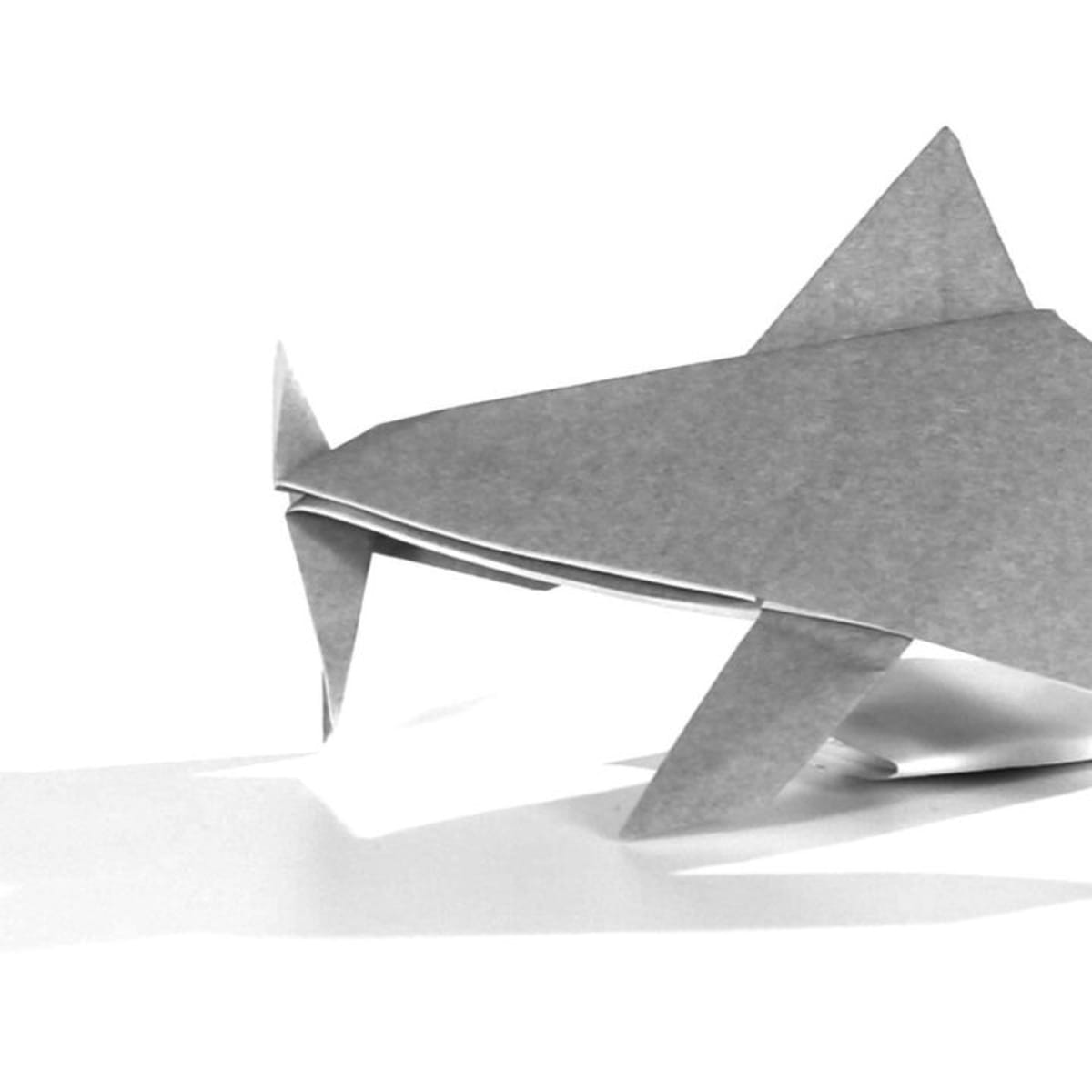 A Jumping Dolphin Paper Craft - 10 Minutes of Quality Time   1200x1200