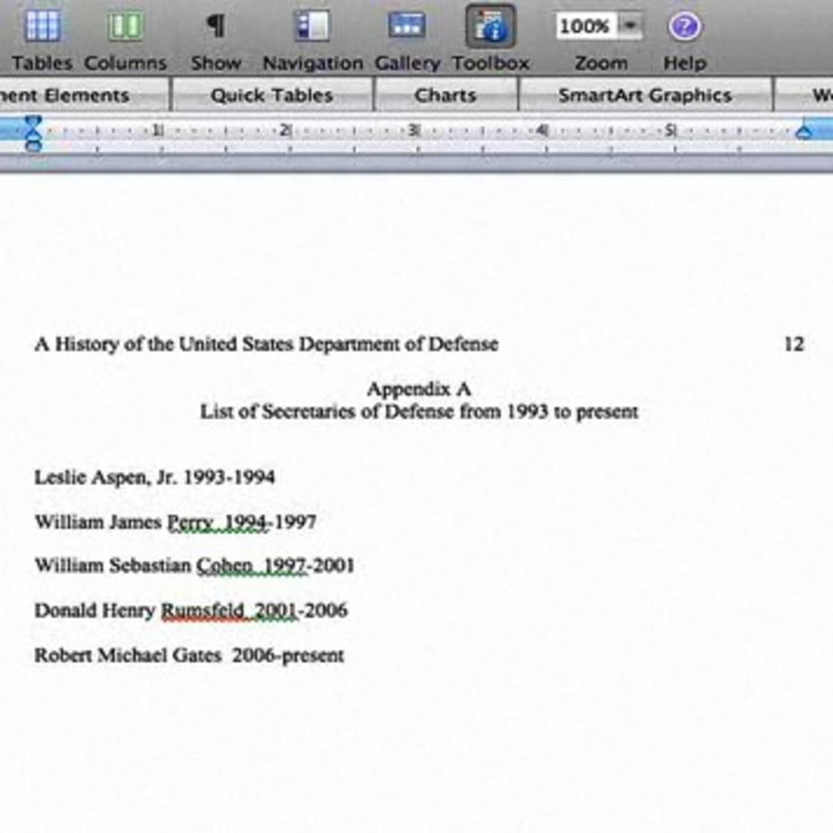 How to Write an Appendix - Howcast