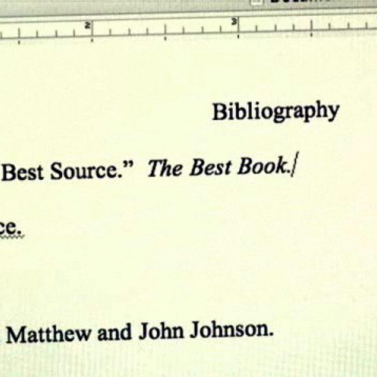How to Write a Bibliography - Howcast