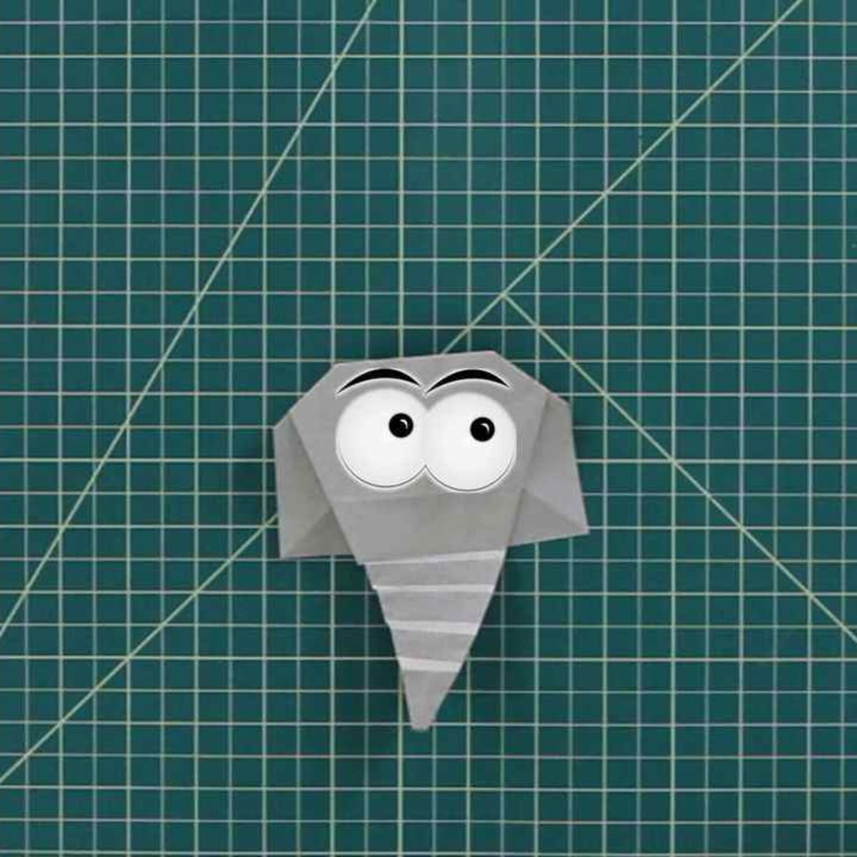 How to make a Paper Elephant: Easy Origami Elephant Instructions | 1200x1200