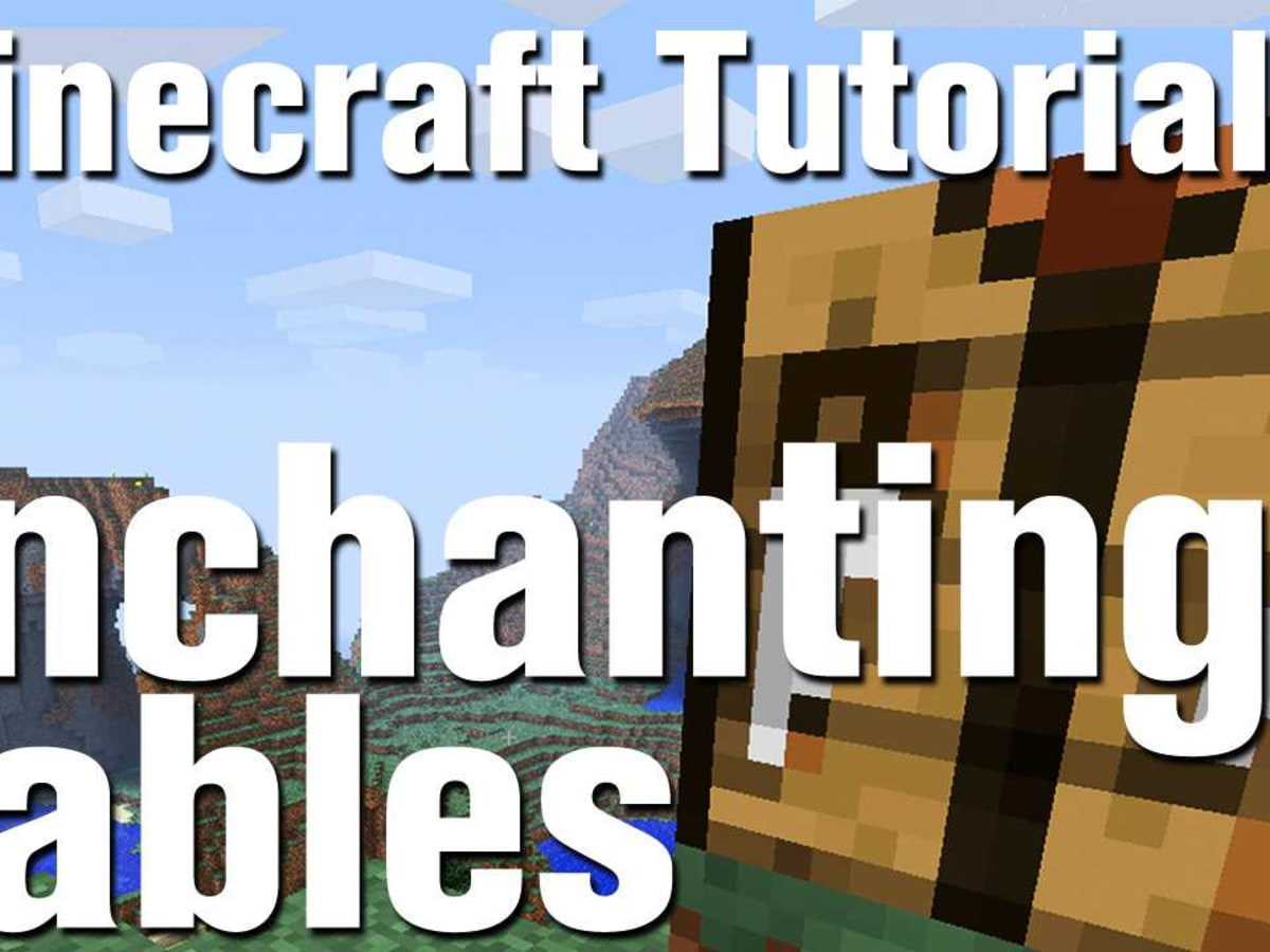 Minecraft Tutorial: How to Make an Enchantment Table - Howcast