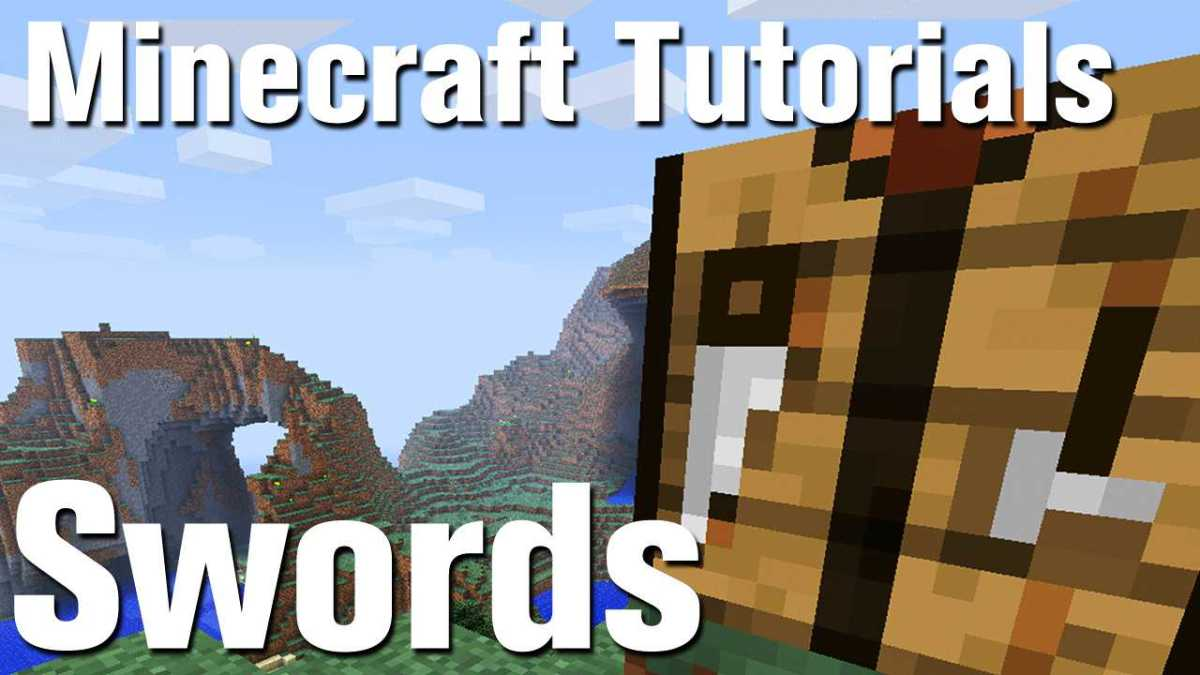 Minecraft Tutorial: How to Make a Sword in Minecraft