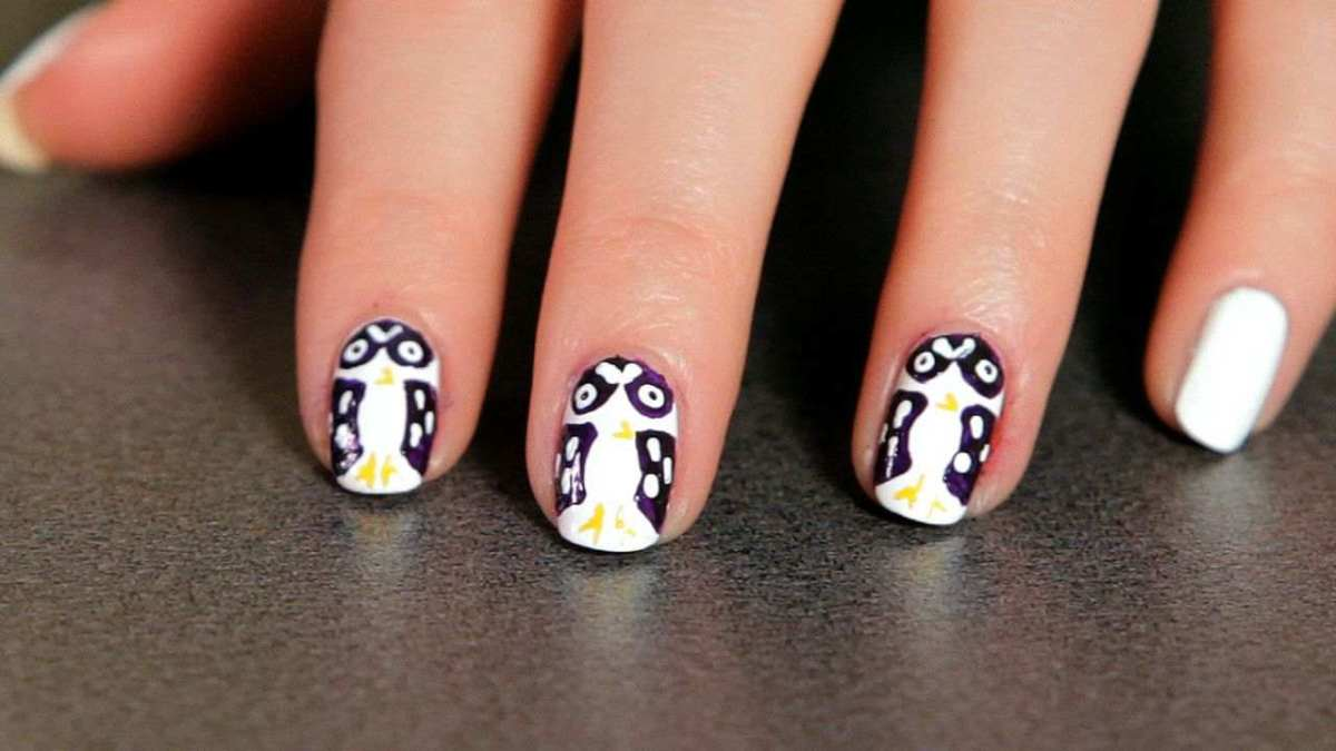 - How To Do An Owl Nail Art Design - Howcast The Best How-to Videos