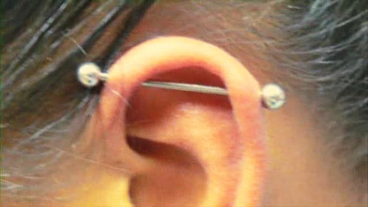 What Is An Piercing Aka Scaffold Howcast The Best How To Videos