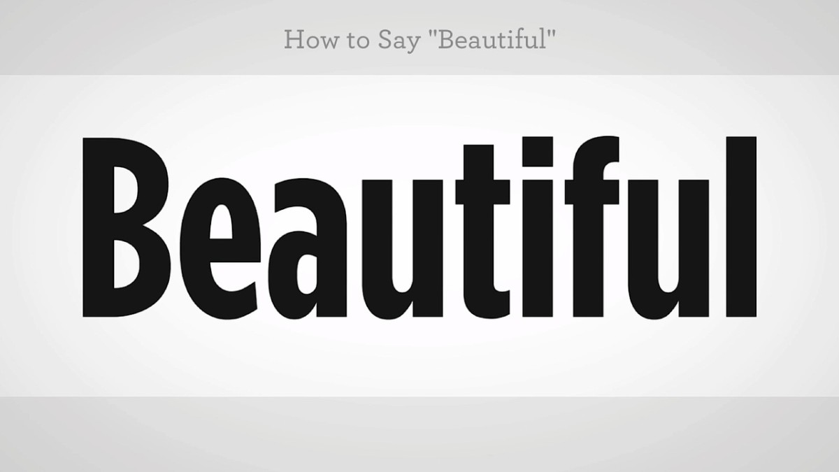 How To Say Beautiful In Mandarin Chinese Howcast The Best How