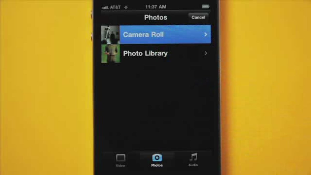How to Use iMovie on the iPhone 4 - Howcast   The best how-to videos