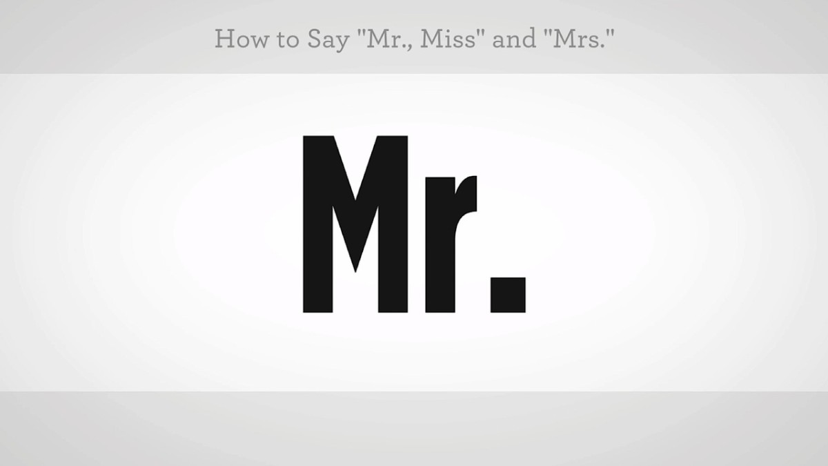 how do you say mrs