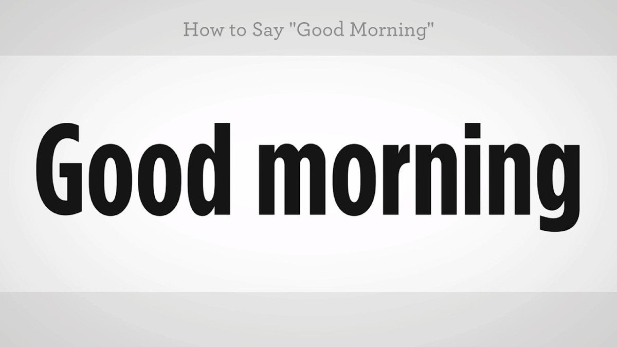 How To Say Good Morning In Mandarin Chinese Howcast The Best