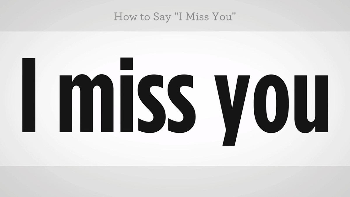 How To Say I Miss You In Mandarin Chinese Howcast The Best How