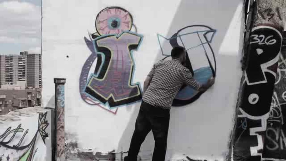 How to draw a j in graffiti howcast the best how to videos