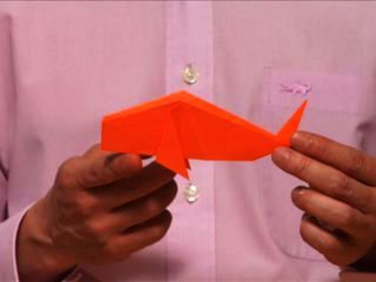 How To Make An Origami Fish Howcast The Best How To Videos