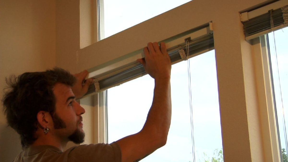 How To Install Window Blinds Howcast