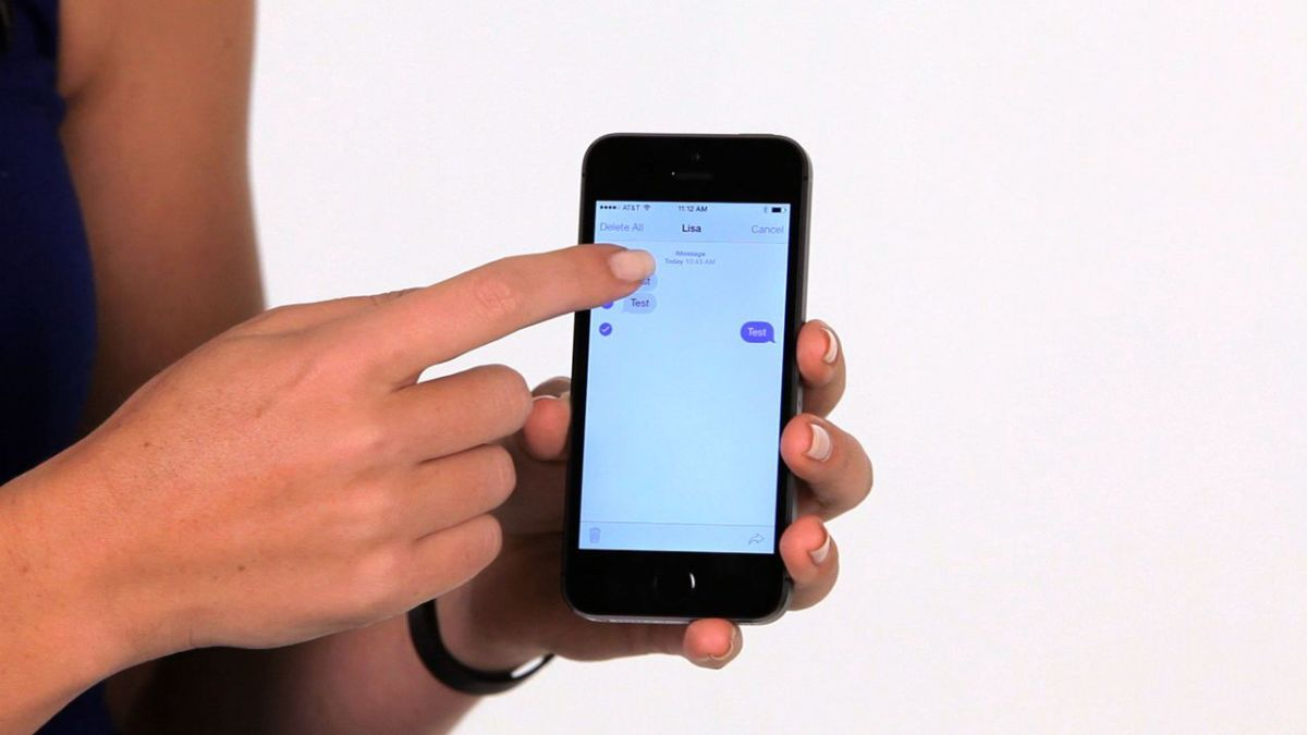 How to Forward a Text Message on an iPhone - Howcast | The