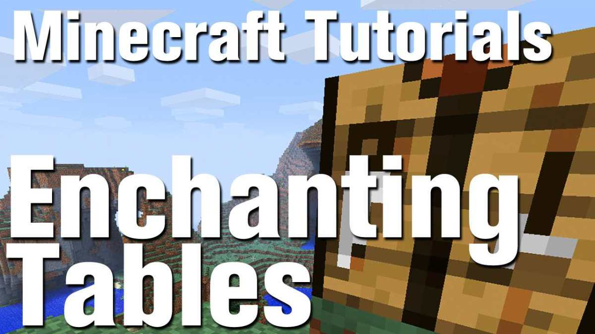 Minecraft Tutorial How To Make An Enchantment Table