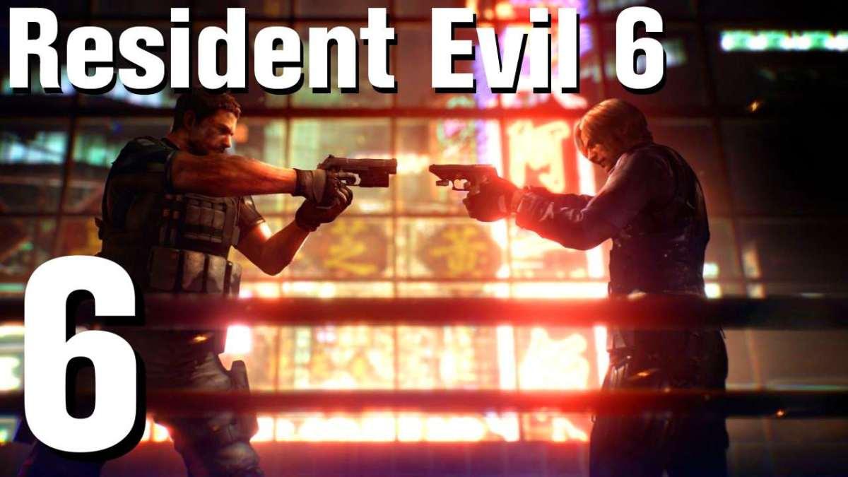 Resident Evil 6 Jake Part 1 walkthrough (no commentary