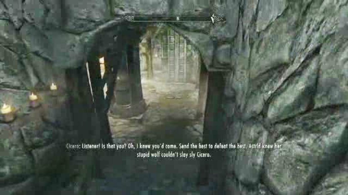 Skyrim Dark Brotherhood Walkthrough Part 11 - The Cure for