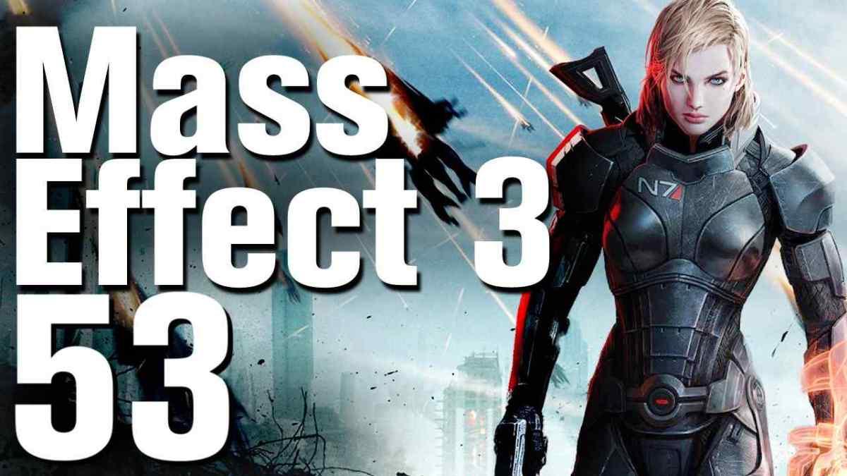 Mass Effect 3 Walkthrough Part 53 - Gellix - Rescue Cerberus