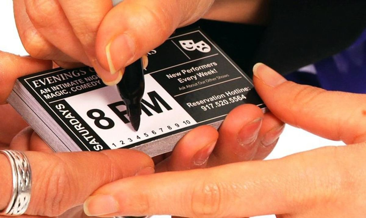 How To Do The Amazing Business Card Office Magic Trick Howcast