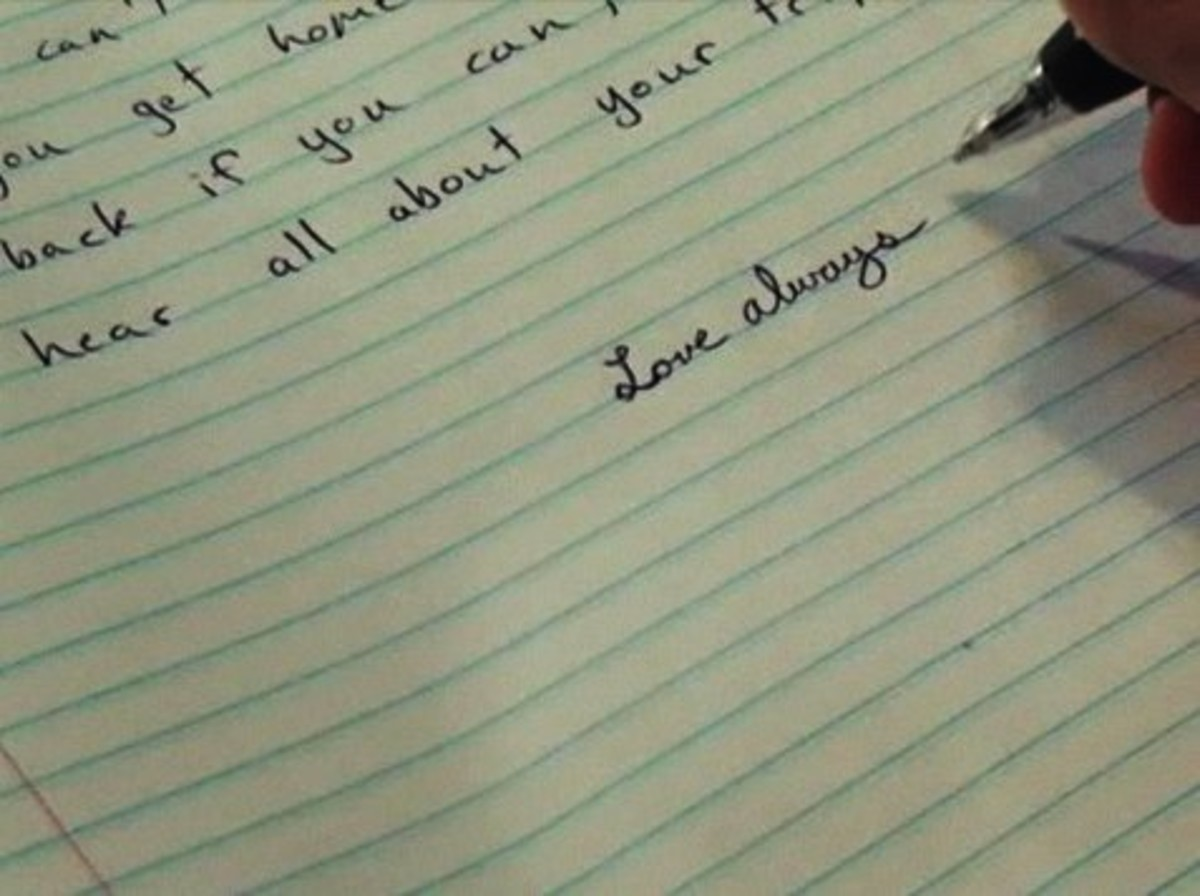 End A Letter With Love.How To End A Letter Howcast The Best How To Videos