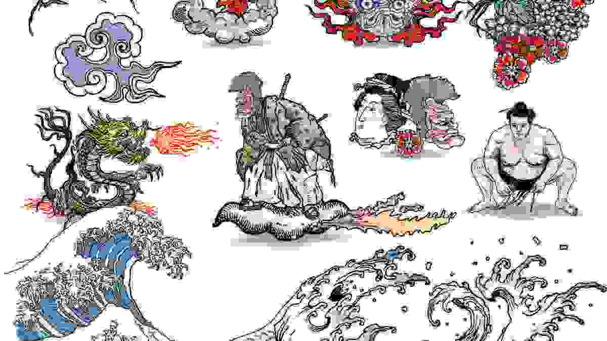 76fe38f79132c How to Design a Tattoo Flash Sheet - Howcast   The best how-to videos