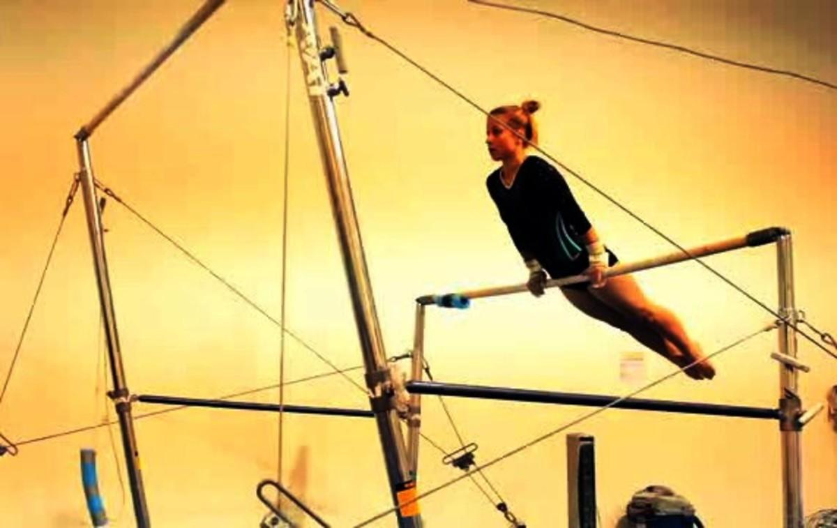 How to Do a Basic Gymnastics Routine on Bars - Howcast | The